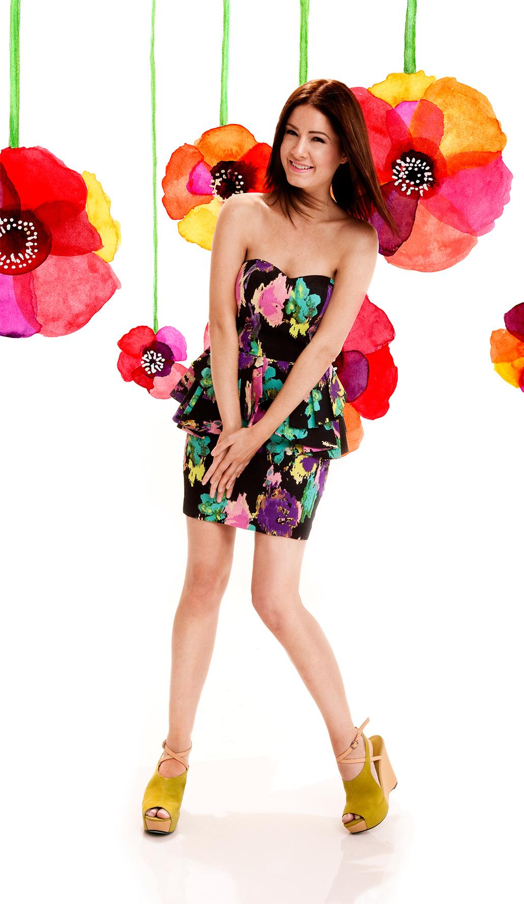 Flora Campaign Vangoh Shoes