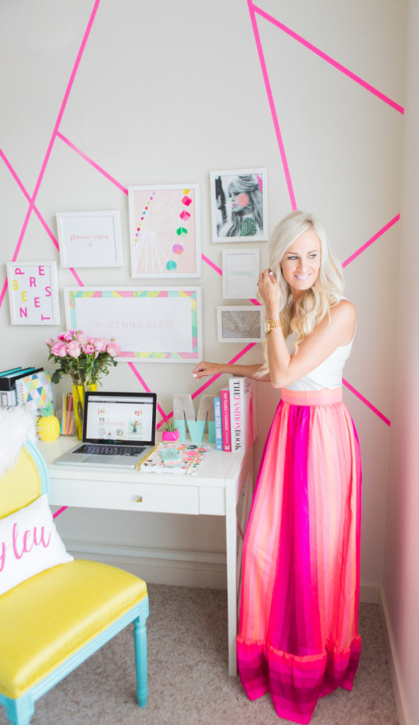 blogger home offices - mckenna_bleu