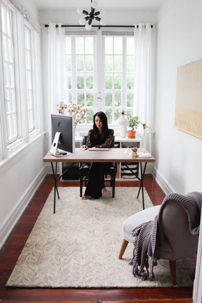 blogger home offices - everygirl