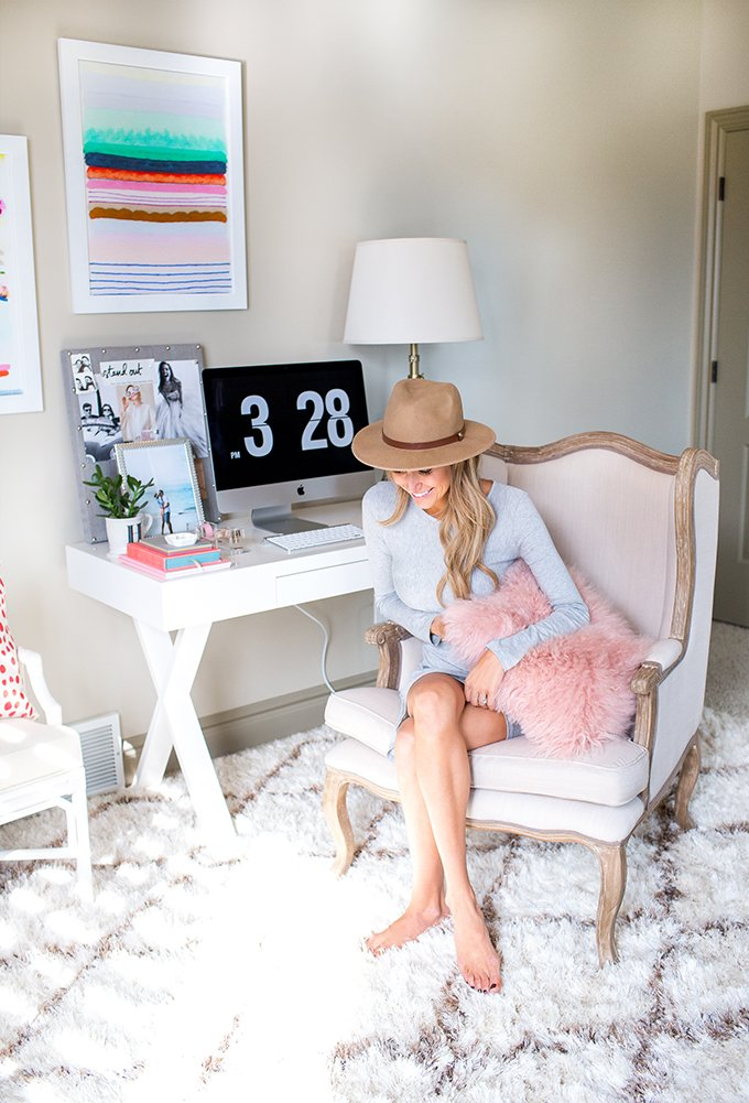 blogger home offices - hello fashion