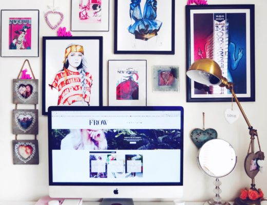 blogger home offices - inthefrow