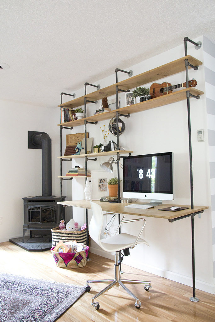 blogger home offices - jenloveskev