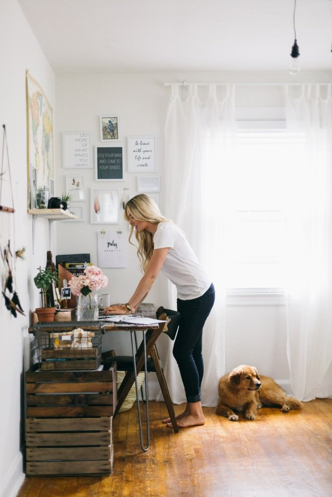 blogger home offices - nutritionstripped