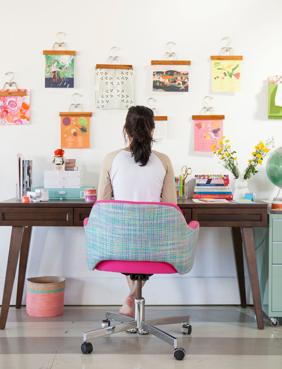 blogger home offices - ohjoy