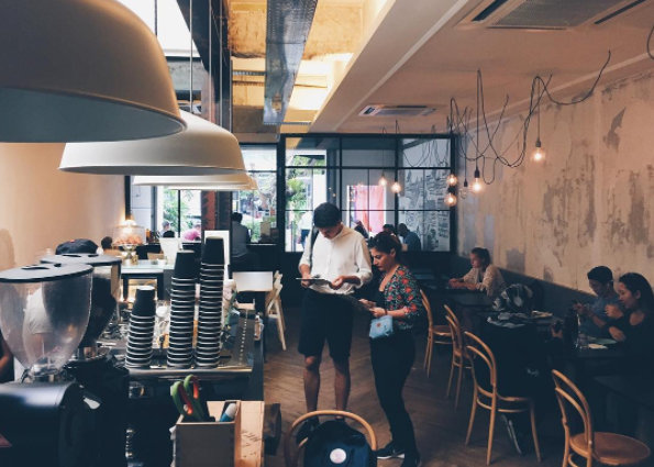 cafes to work from