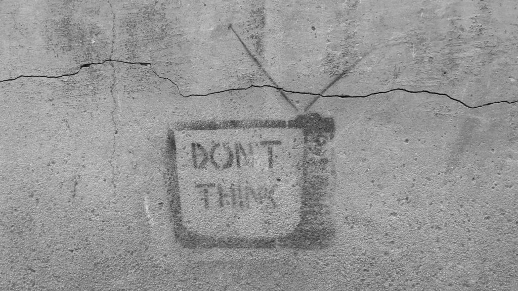 dont think graffiti